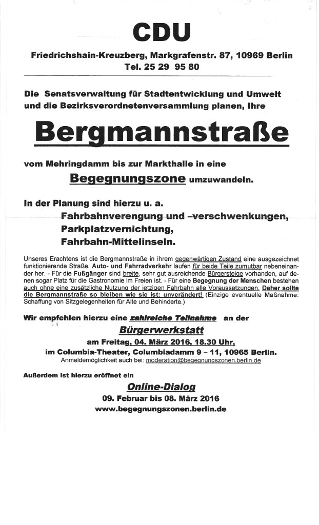 BegegnungBergmann 16091 - TrippleB CDU Plakat