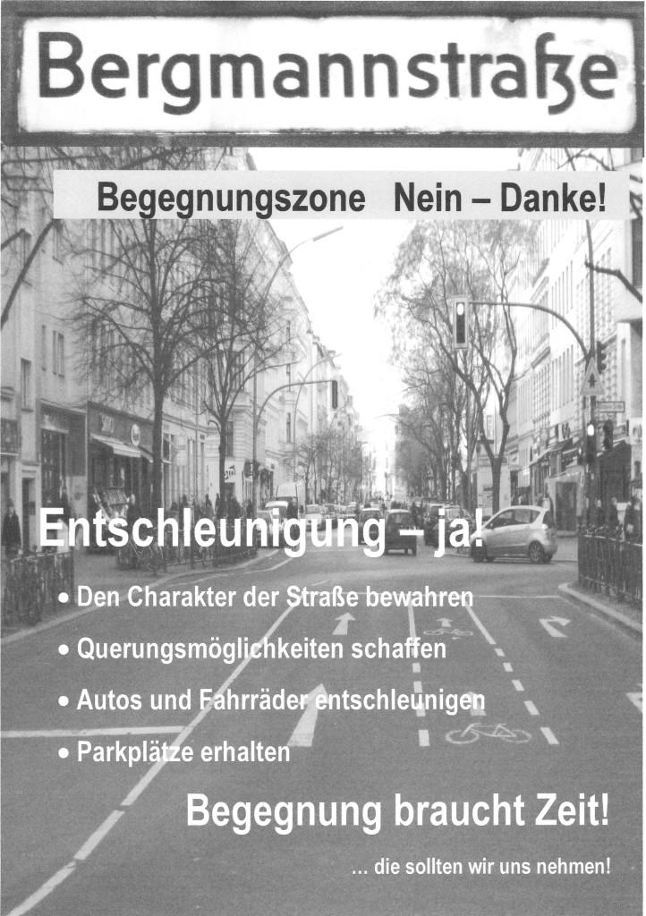 BegegnungBergmann 16093 - Plakataushang HERRLICH